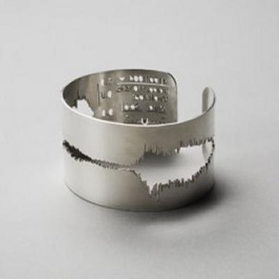 Latest Wedding Ring Trend: Voice Waveform