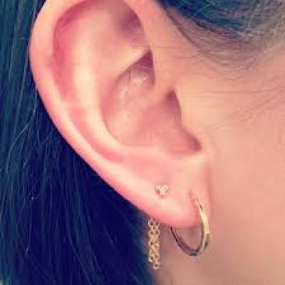 Jewelry Trend: Chain Back Earrings