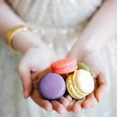 A Macaroon Wedding Theme