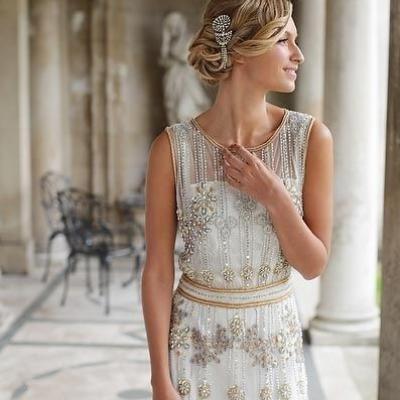 تصاميم فستان عروس من وحي العشرينات!