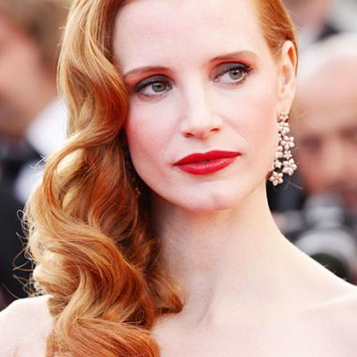 Celebrity Bridal Beauty Inspiration: Go Retro