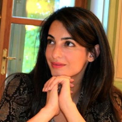 Amal Alamuddin's Minimal Makeup Look