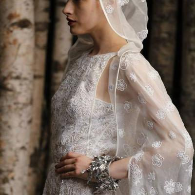 Bridal Fashion Trend: Capes