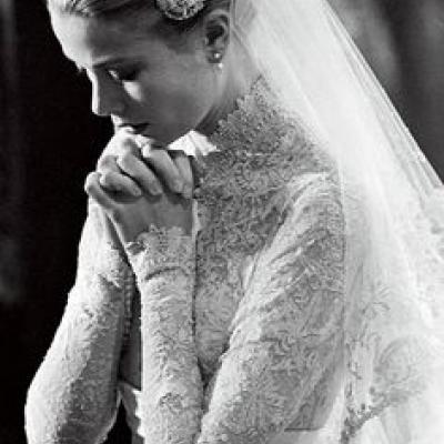 Bridal Fashion Trend: High Collars