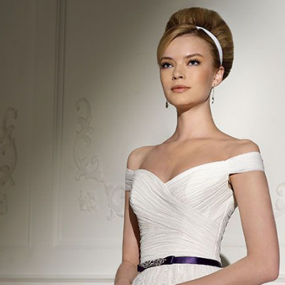 Bridal Fashion Trend: Off The Shoulder Bridal Gowns