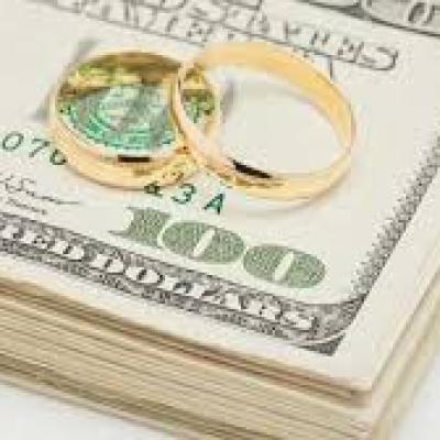 Money Talk Before The Wedding