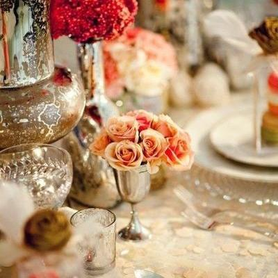How to Use Mercury Glass in Your Wedding