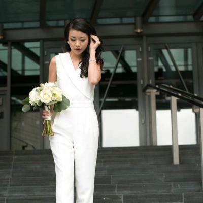Bridal Fashion Trend: The Bridal Jumpsuit
