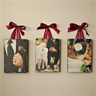 Creative Ways to Display Your Wedding Pictures