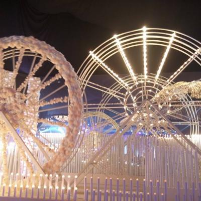 A Ferris Wheel Wedding Theme