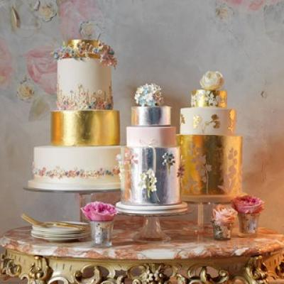 6  Beautiful Wedding Cakes You Will Love