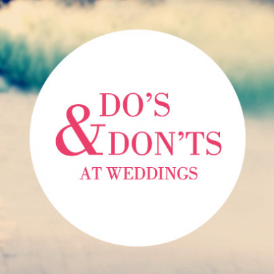 The Top Wedding Dos and Don'ts By David Tutera