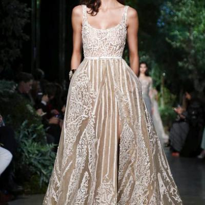 Paris Haute Couture Fashion Week: Elie Saab Spring/Summer 2015 Collection