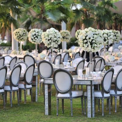 Beautiful White Weddings by Arab Wedding Planners