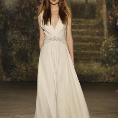 Jenny Packham's Spring 2016 Bridal Collection at New York Bridal Market 2015