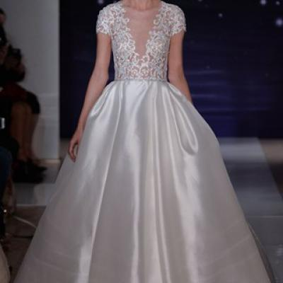 Reem Acra's Spring 2016 Collection at New York Bridal Market 2015