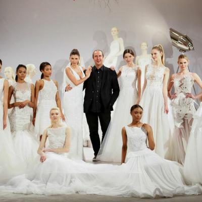 عرض مجموعة فساتين زفاف طوني ورد 2016 في أسبوع نيويورك لأزياء الزفاف 2015