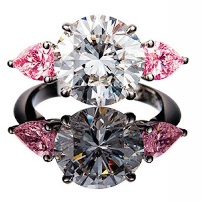 Wedding Jewelry Trend Alert: Glenn Bakker's Argyle Pink Diamonds