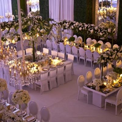 Inside the Indoor Garden Wedding of: Yousef Shamoun and Dima Haddadin