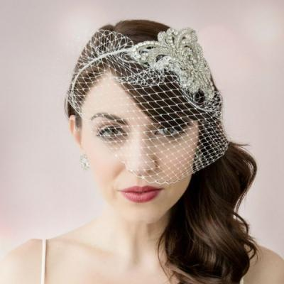 Retro Glam Bridal Hairstyles