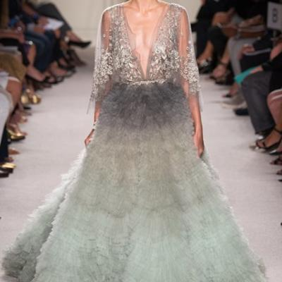 Your Engagement Dress Inspired By Marchesa's 2016 Collection at New York Fashion Week