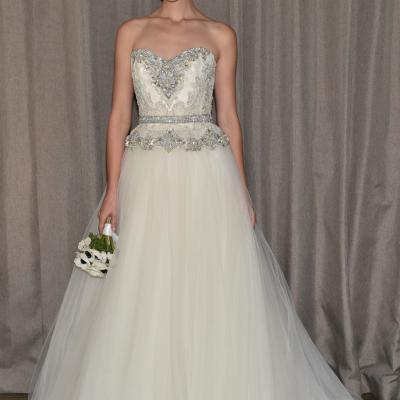 Badgley Mischka's Fall 2016 Bridal Collection at New York Bridal Week