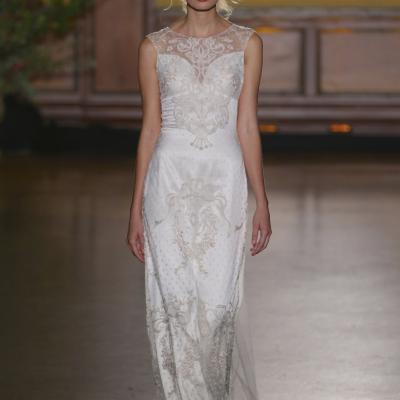 Claire Pettibone's Bridal Fall 2016 Collection at New York Bridal Week