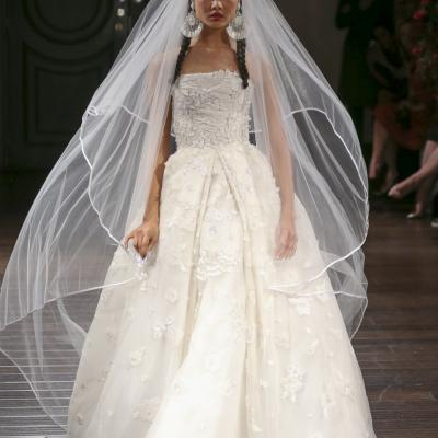 Naeem Khan's Fall 2016 Bridal Collection at New York Bridal Week