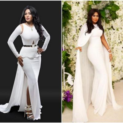 White Dresses Inspired By Saudi Singer Waed