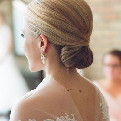 Bridal Hair Trend in 2016: Polished Chignons