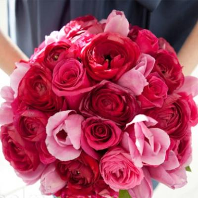 Valentine's Day Inspired Bridal Bouquet