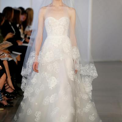 Oscar de la Renta's Spring 2017 Bridal Collection
