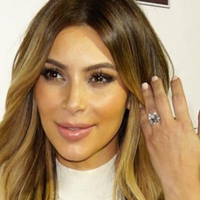 كيم كارداشيان تكشف أسرار الحفاظ على بريق خاتم زواجها