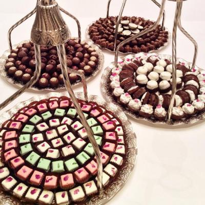 شوكولاتة الزفاف بمذاق لذيذ من أشهر المحلات في دول الخليج