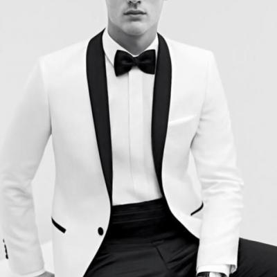 What to Consider Before Wearing a White Tuxedo