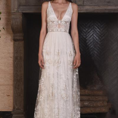 Claire Pettibone's 2017 Fall Bridal Collection at New York International Bridal Week