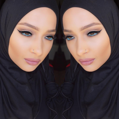 Makeup Looks Inspired by Hijab Influencers