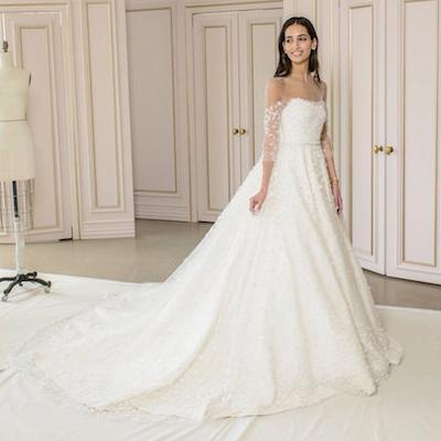 أشهر 7 محلات فساتين زفاف في الرياض