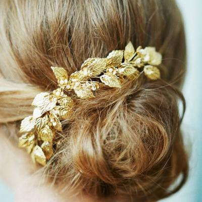 Gold Bridal Hair Accessories For Your 2017 Bridal Look