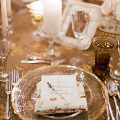 Old World Elegance Wedding Theme