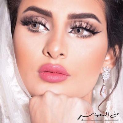 مكياج عرائس بأنامل خبيرة التجميل السعودية منى النعمان