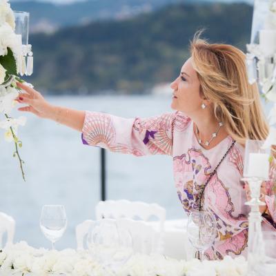 مقابلة مع ميلتم تيبيلر من شركة تنظيم حفلات الزفاف الفاخرة ك م ايفنتس