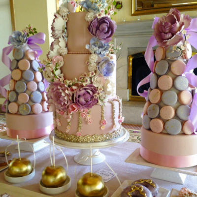 6 Luxury Bridal Shower Cakes by 'Fine Cakes By Zehra
