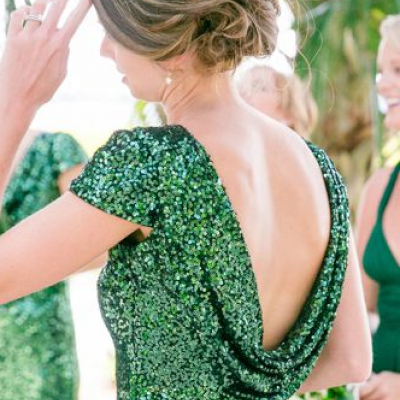Jewel Tone Engagement Dresses We Love