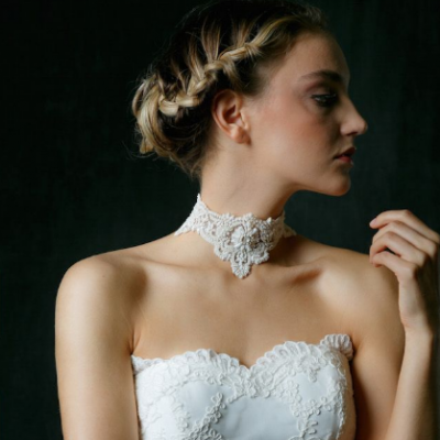 Chic Bridal Chokers by Sareh Nouri