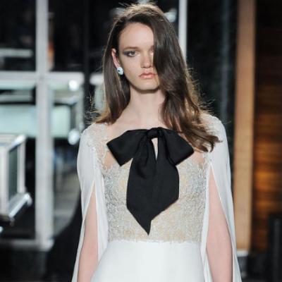 Bridal Fashion Trend 2018: Black Accents
