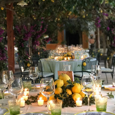 Your Engagement Party Inspired by This Lemon Themed Pre-Wedding Dinner