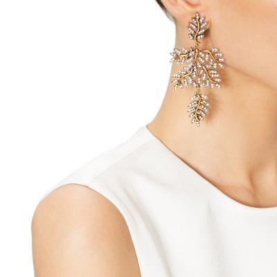 Unique Earrings to Complete Your Bridal Look from Oscar de la Renta