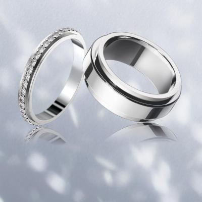 Stunning Platinum Wedding Rings By Piaget
