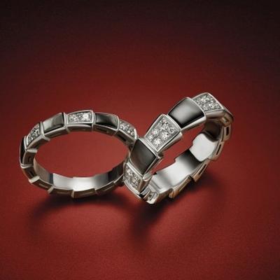 مجموعة دبل سيربنتي فايبر من بولغاري للعروس العصرية